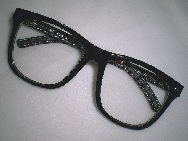 ウエリントン型だてめがね★★★レザー&セルフレームダテ眼鏡★★★ユニセックス小顔効果バツグン★★★ウェリントンタイプ黒縁伊達メガネ_色違い商品も出品致しております。