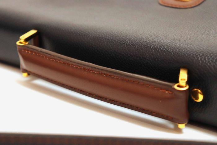 【美品】dunhill London ダンヒル  ビジネスバッグ  ブリーフケース メンズ レザー ショルダー付き ビジネス鞄 かばん _画像5