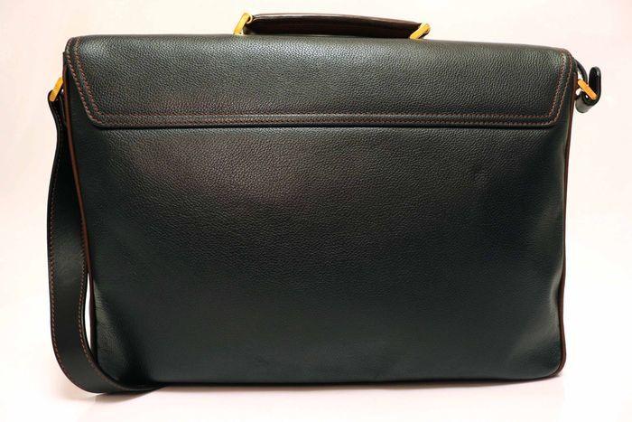 【美品】dunhill London ダンヒル  ビジネスバッグ  ブリーフケース メンズ レザー ショルダー付き ビジネス鞄 かばん _画像3
