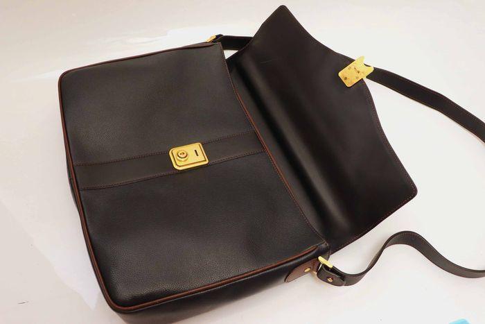 【美品】dunhill London ダンヒル  ビジネスバッグ  ブリーフケース メンズ レザー ショルダー付き ビジネス鞄 かばん _画像8