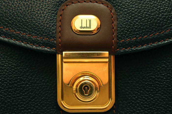 【美品】dunhill London ダンヒル  ビジネスバッグ  ブリーフケース メンズ レザー ショルダー付き ビジネス鞄 かばん _画像7