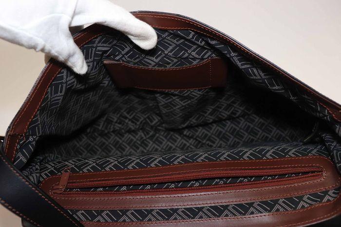 【美品】dunhill London ダンヒル  ビジネスバッグ  ブリーフケース メンズ レザー ショルダー付き ビジネス鞄 かばん _画像9