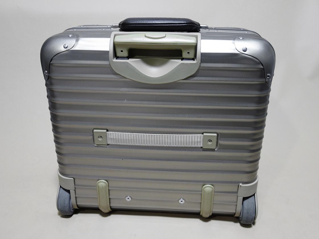 RIMOWA TOPAS PREMIUM リモワ トパーズ プレミアム ビジネストロリー 944.40 25L 2輪 スーツケース/ステルス デラックス サルサ salsa_画像2