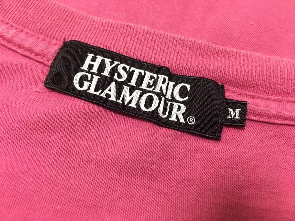 即完売!キムタク着!貴重!【希少!HYSTERIC GLAMOURヒステリックグラマー 乳出しTシャツ!Mサイズ!】_画像7