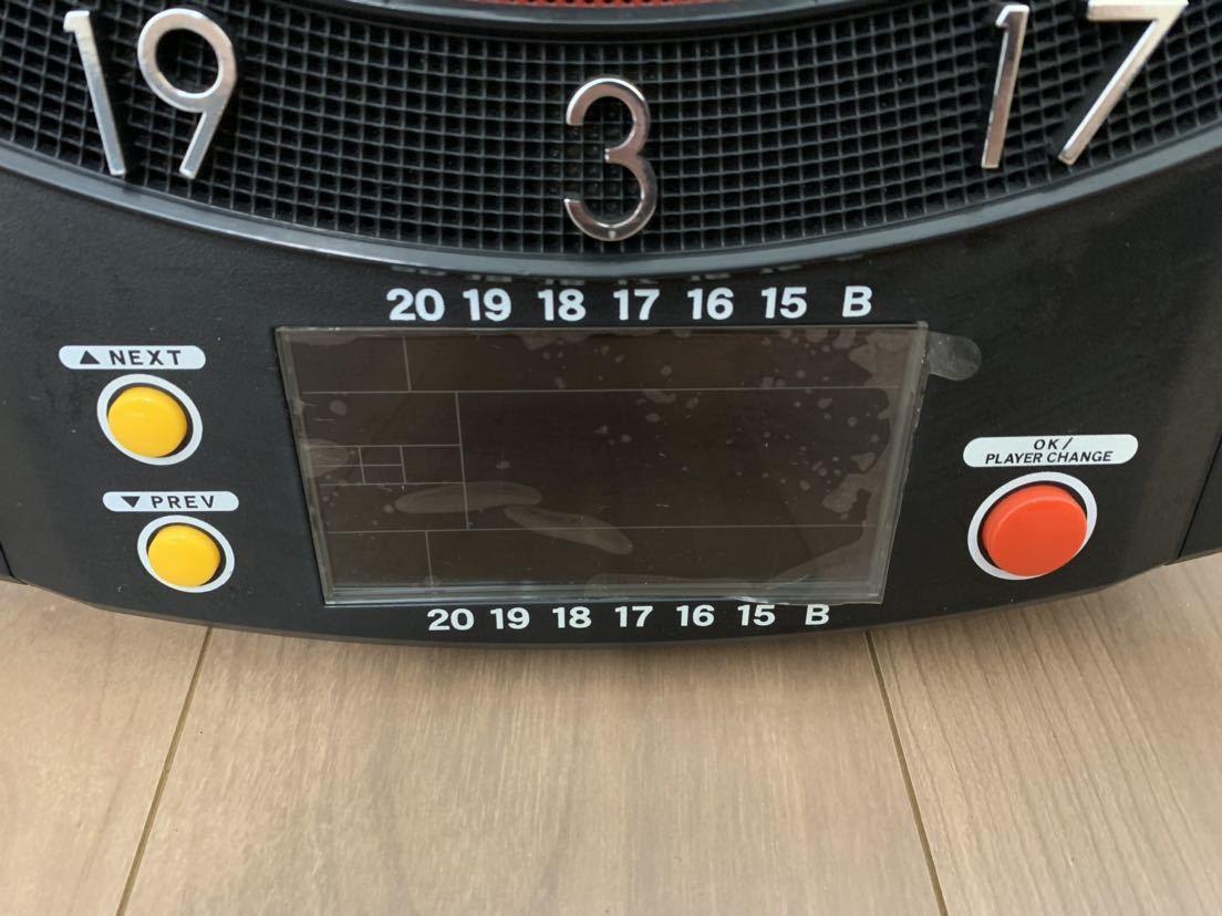 【美品】 DARTSLIVE-100S 家庭用 ダーツボード ダーツライブ ソフトダーツ専用_画像6