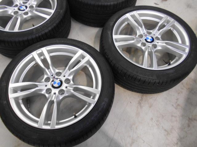 【売り切り】傷直し無しの綺麗品!! BMW F30 3シリーズ 純正 Mスポーツ スタースポーク 400M 18インチ ランフラットタイヤ付き_画像4