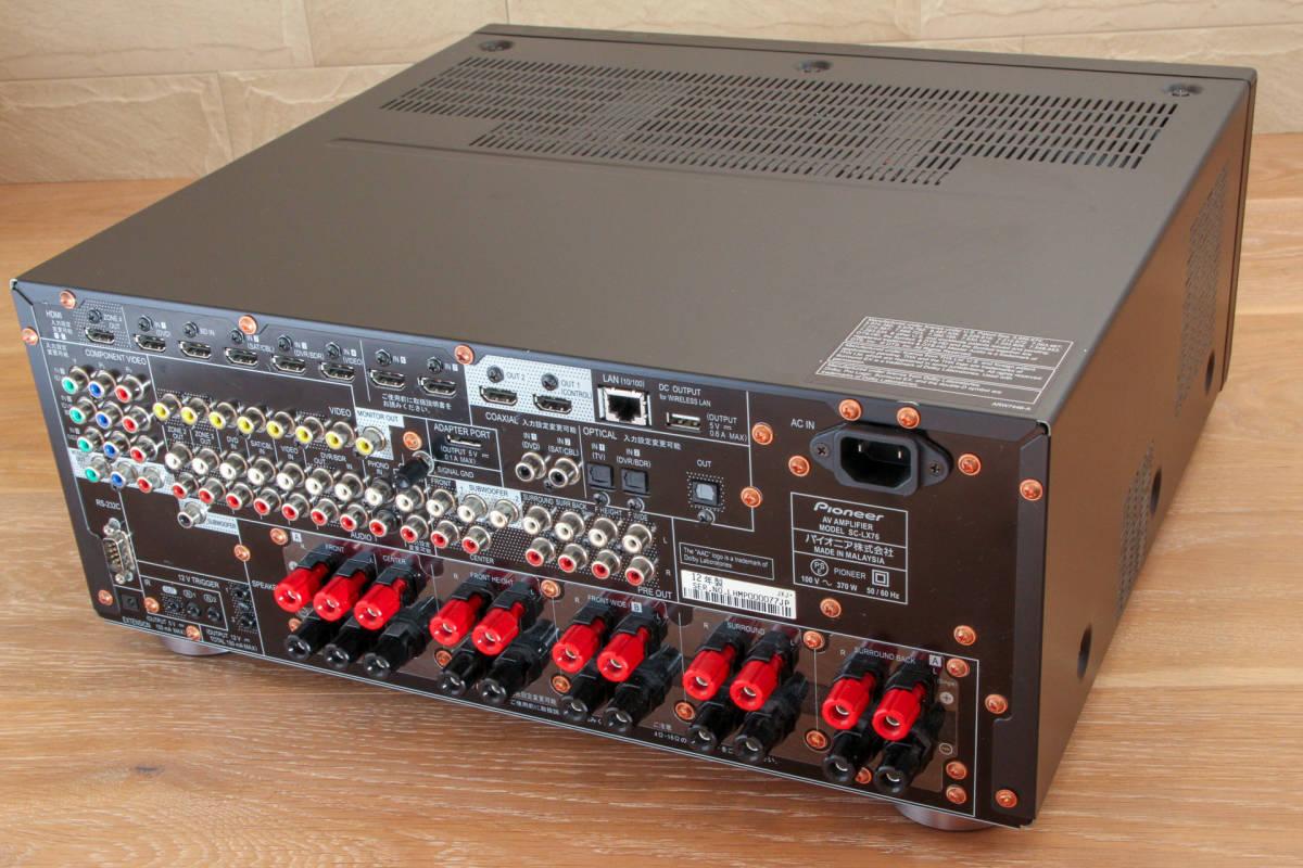 【送料無料】Pioneer パイオニア AVアンプ SC-LX76(中古)_画像2