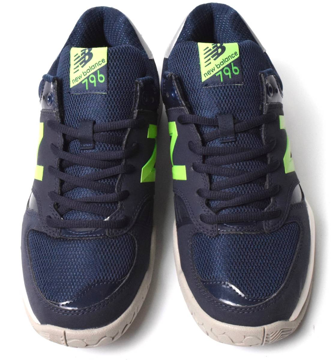 f449a5799f53c 未使用 NB ニューバランス MC796 NV1 オールコート テニス シューズ 25.5 (2E) _画像