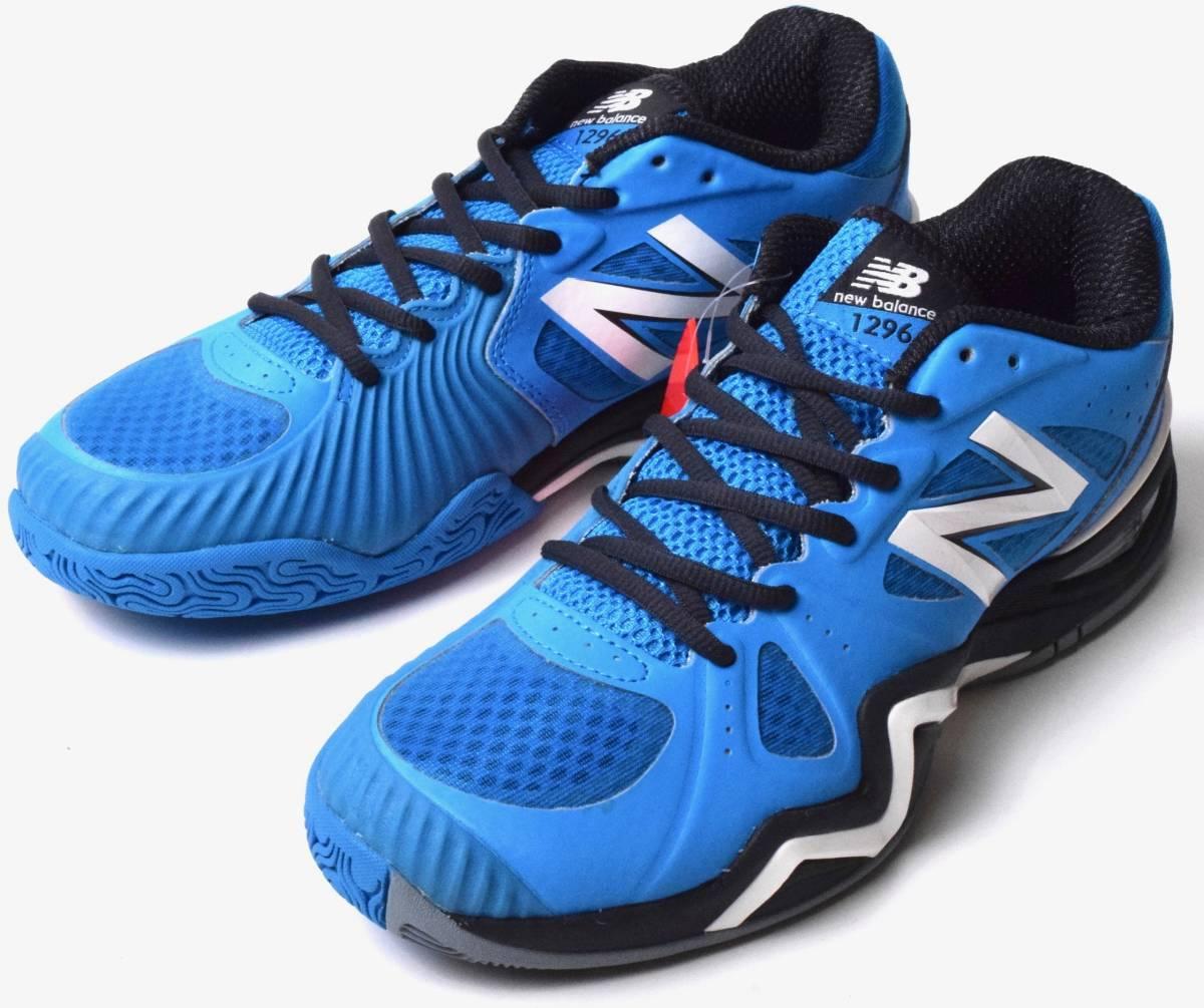 08d1b8649f865 未使用 NB ニューバランス MC1296BG オールコート テニス シューズ 25.5 ブルー