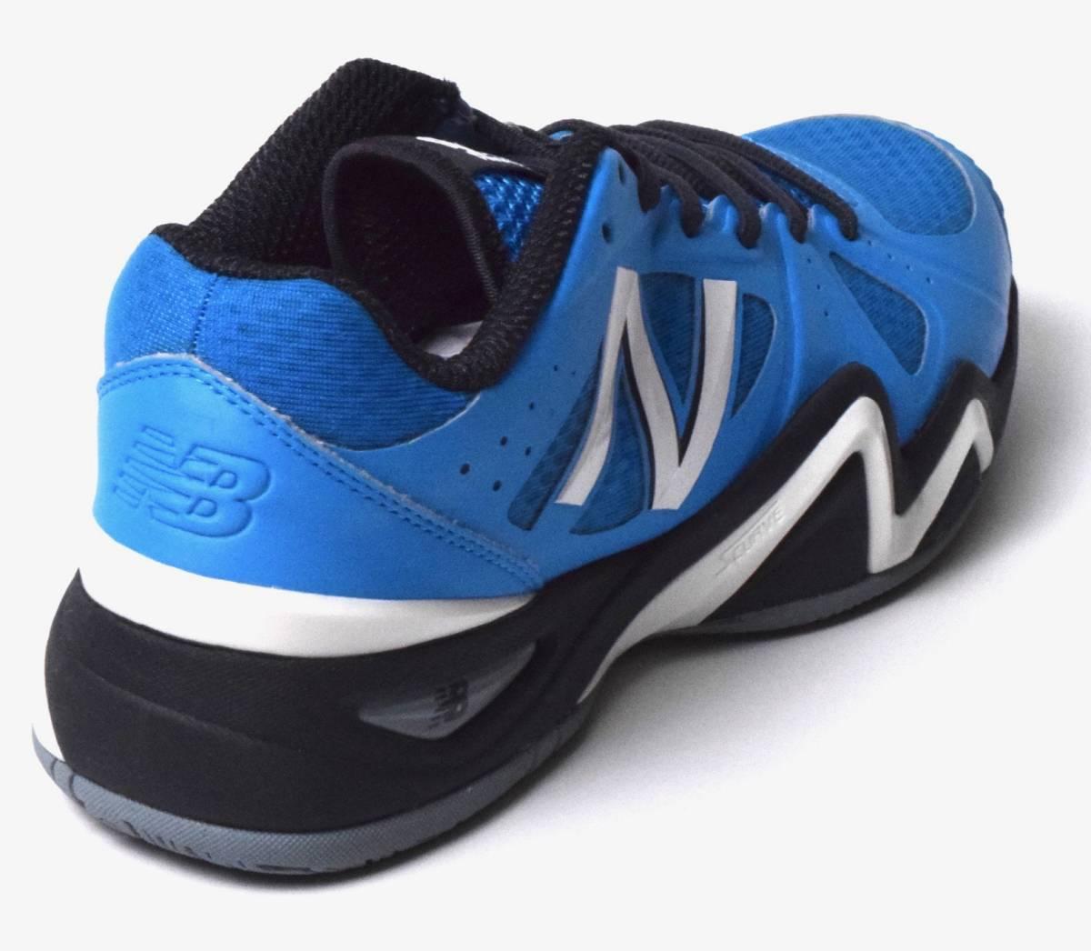 e869dc505988b 未使用NB ニューバランスMC1296BG オールコートテニスシューズ25.5 ブルー. 商品數量: :1