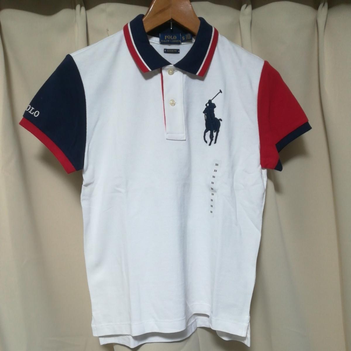 ラルフローレン ポロ レディース クラシックフィット ビッグポニー ポロシャツ XSサイズ