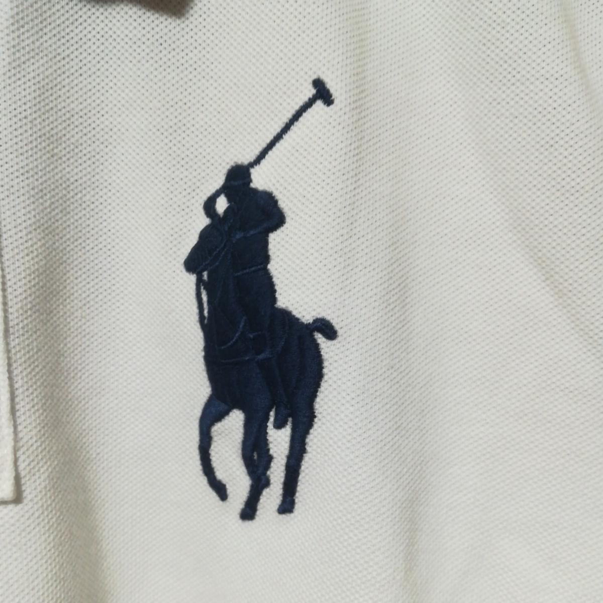 ラルフローレン ポロ レディース クラシックフィット ビッグポニー ポロシャツ XSサイズ_画像2