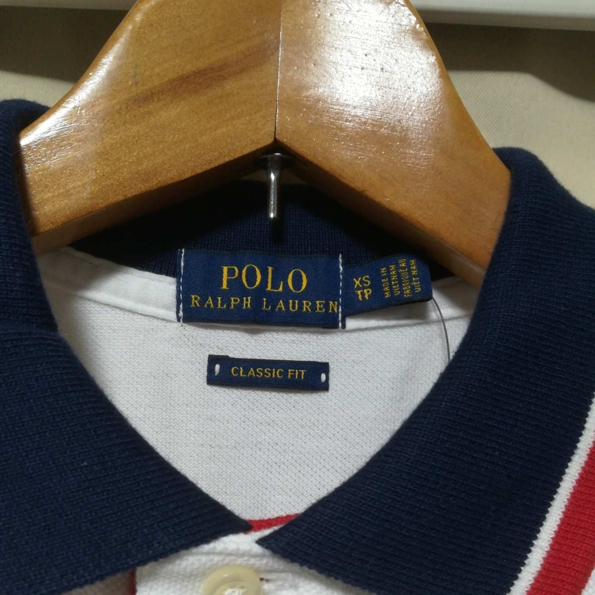 ラルフローレン ポロ レディース クラシックフィット ビッグポニー ポロシャツ XSサイズ_画像3