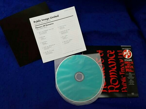 帯あり 紙ジャケ P.I.L. CD フラワーズ・オブ・ロマンス(初回限定盤)(紙ジャケット仕様)(SHM-CD)_画像1