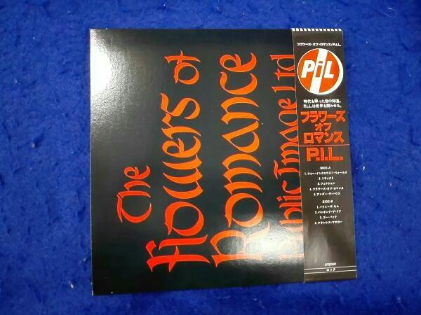 帯あり 紙ジャケ P.I.L. CD フラワーズ・オブ・ロマンス(初回限定盤)(紙ジャケット仕様)(SHM-CD)_画像2