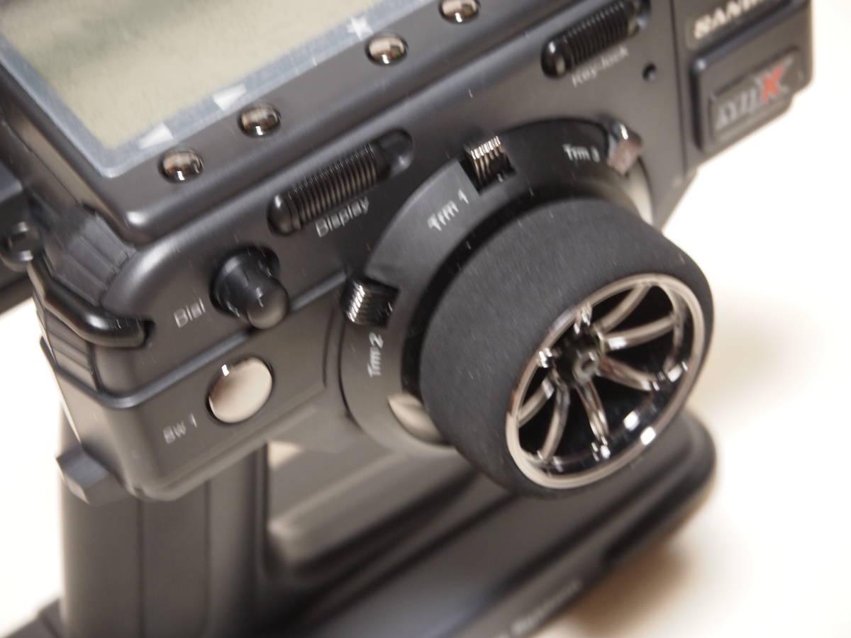 サンワ M11X 2.4G 送信機のみ 純正急速充電器付 美品 無限精機 京商 タミヤ ヨコモ サーパント インフィニティ XRAY HPI_画像3