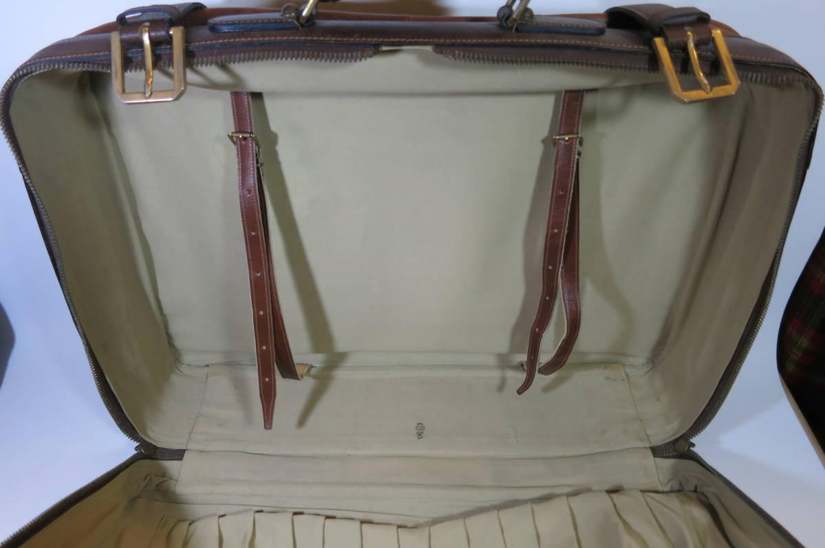 希少 MARK CROSS マーククロス 馬革 riri ホースハイド トランク スーツケース_画像4