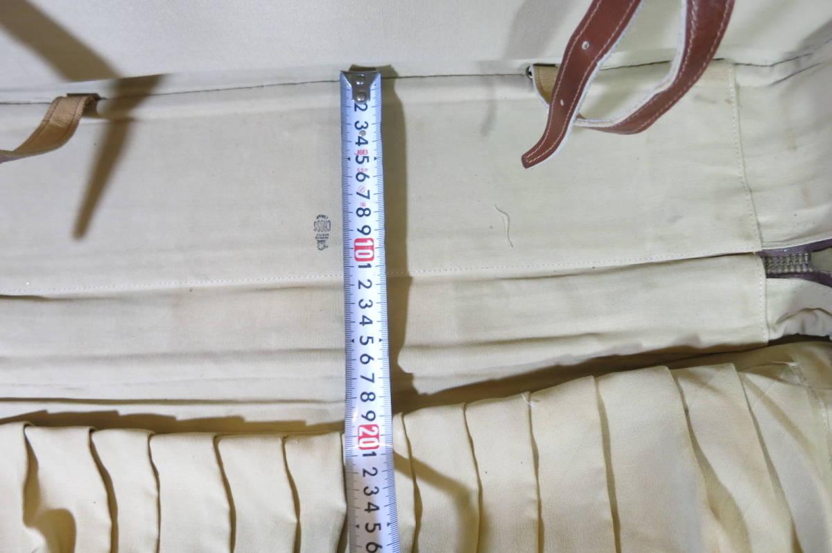 希少 MARK CROSS マーククロス 馬革 riri ホースハイド トランク スーツケース_画像8