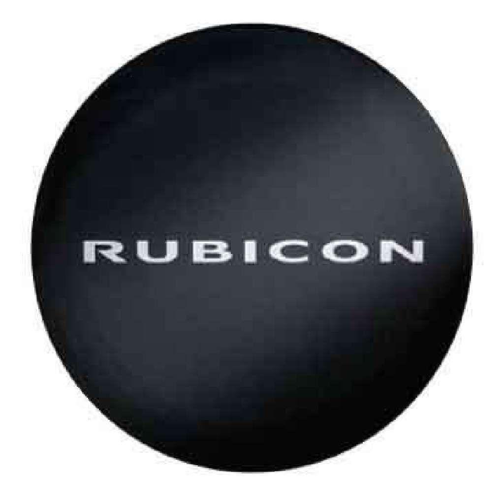 [Mopar モパー]ソフト背面タイヤカバー [RUBICON]ロゴ入 255/75R17 255/70R18用 ブラック 布 JEEP ジープ JK ラングラー/送料無料 82212429_画像2