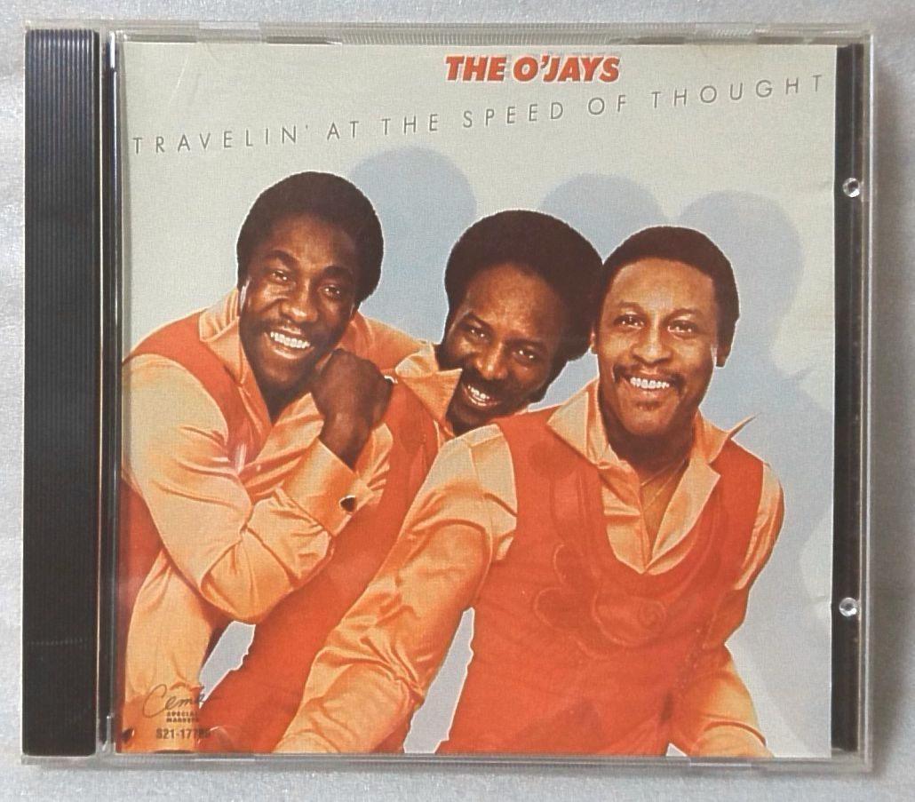 THE O'JAYS TRAVELIN AT THE SPEED OF THOUGHT / 1994年 再発盤 US盤CD [4198CDN_画像1