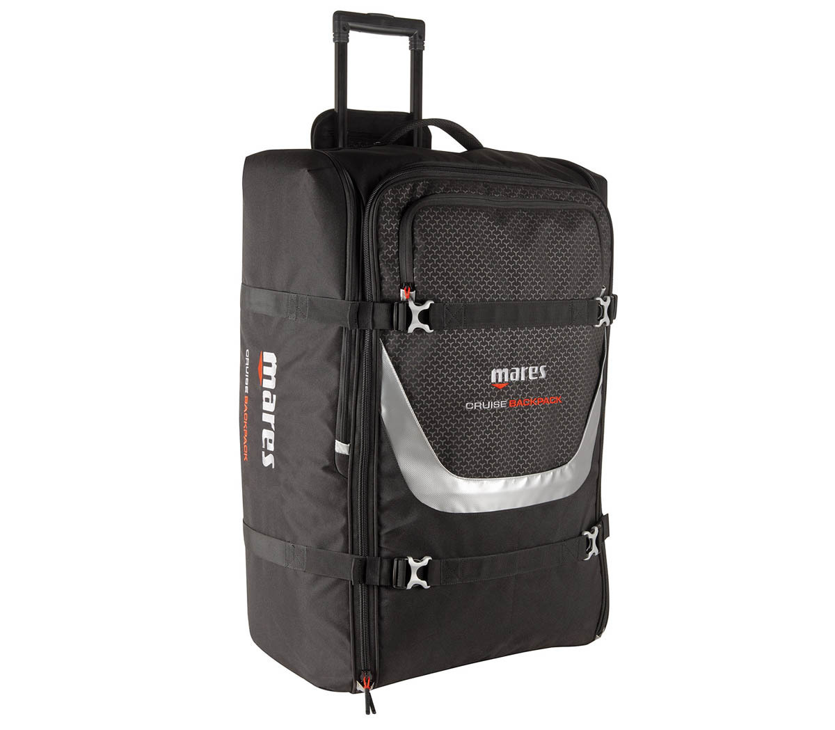 MARES(マレス)クルーズ バックパック CRUISE BACKPACK 40x31x80cm 100L 4.4kg 大型キャスターバッグ キャリーバッグ [415465]_画像1