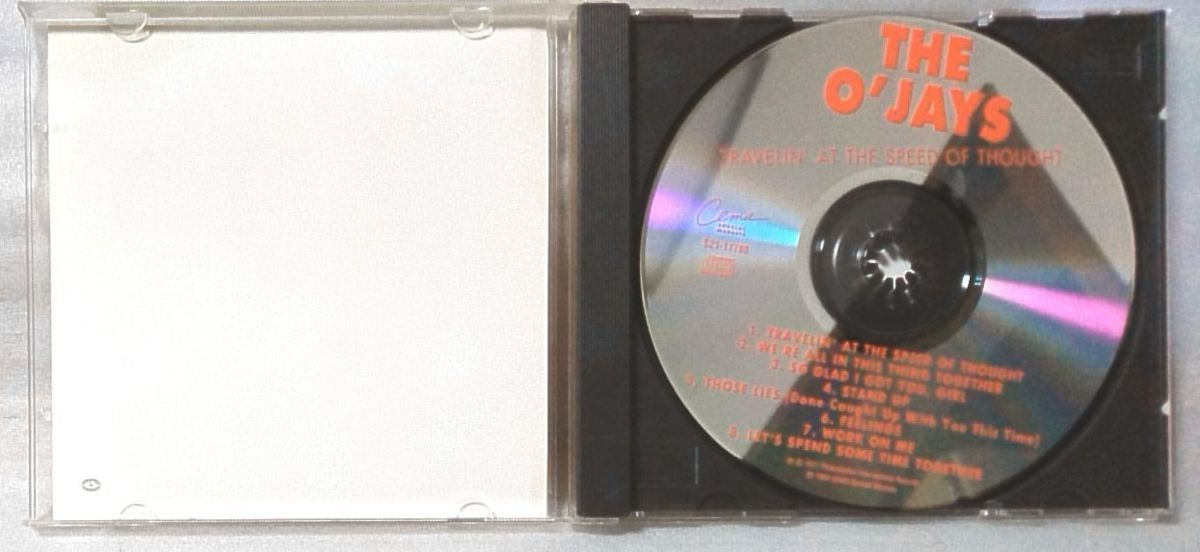THE O'JAYS TRAVELIN AT THE SPEED OF THOUGHT / 1994年 再発盤 US盤CD [4198CDN_画像4