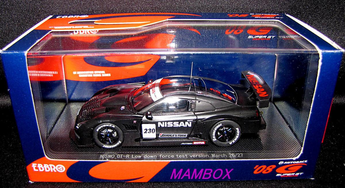 【フリマ】EB☆1/43 43119 ニッサン GT-R 2008 ローダウンフォース テストバージョン #230_画像2