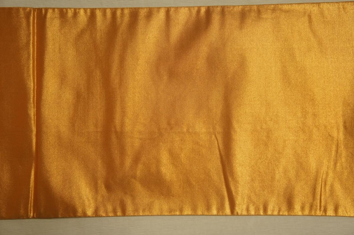 特選『紫紘』金箔地束ね熨斗刺繍入り袋帯[O11464]_特選『紫紘』金箔地束ね熨斗刺繍入り袋帯