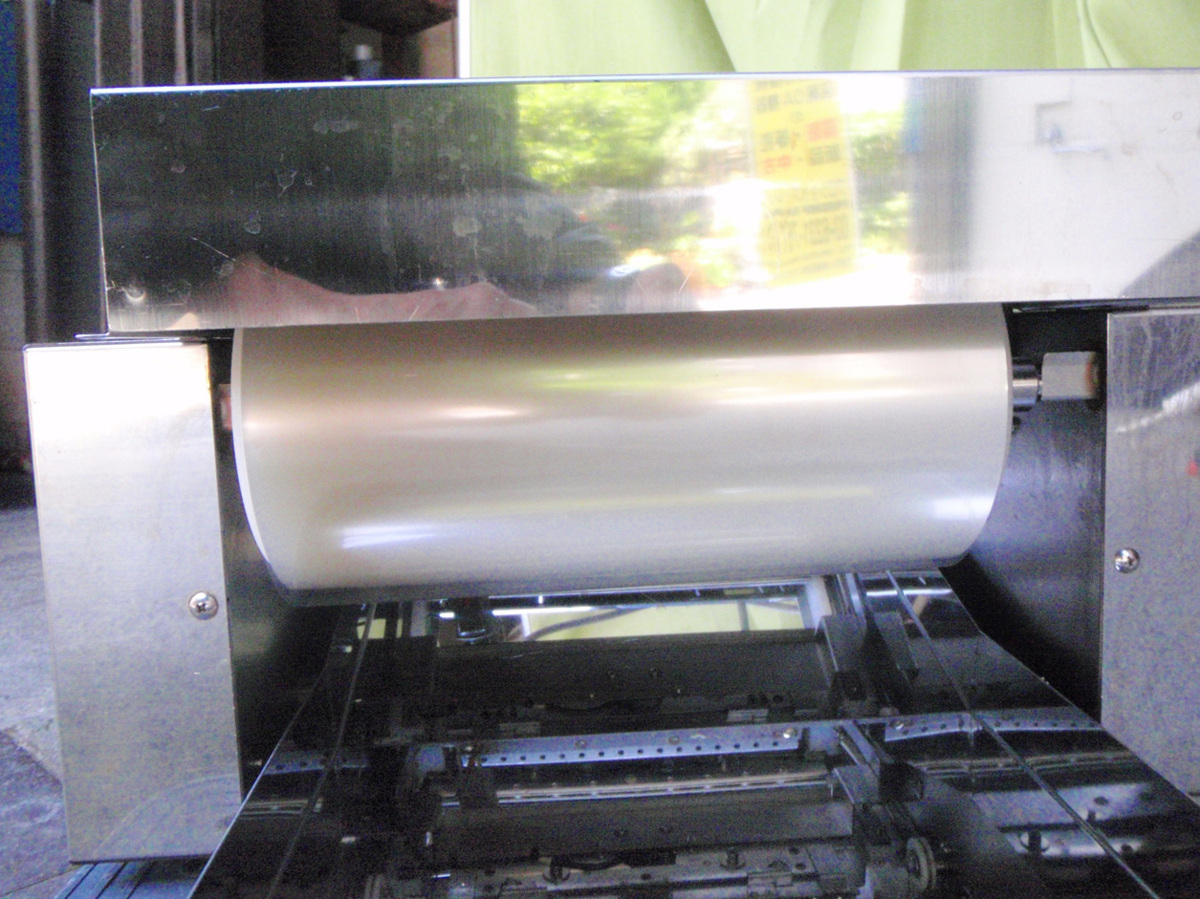 ◆分解清掃済!鈴茂器工 SUZUMO社製 海苔巻きロールパック機 ZNS-RPA◆_画像6
