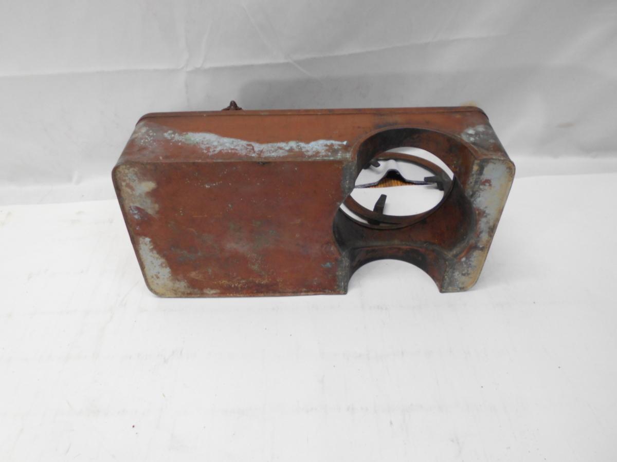 さなえ111 時代 銅製 どうこう 鉄瓶かけ 酒燗入れ 箱火鉢用 古道具 越前蔵うぶ出し _画像7