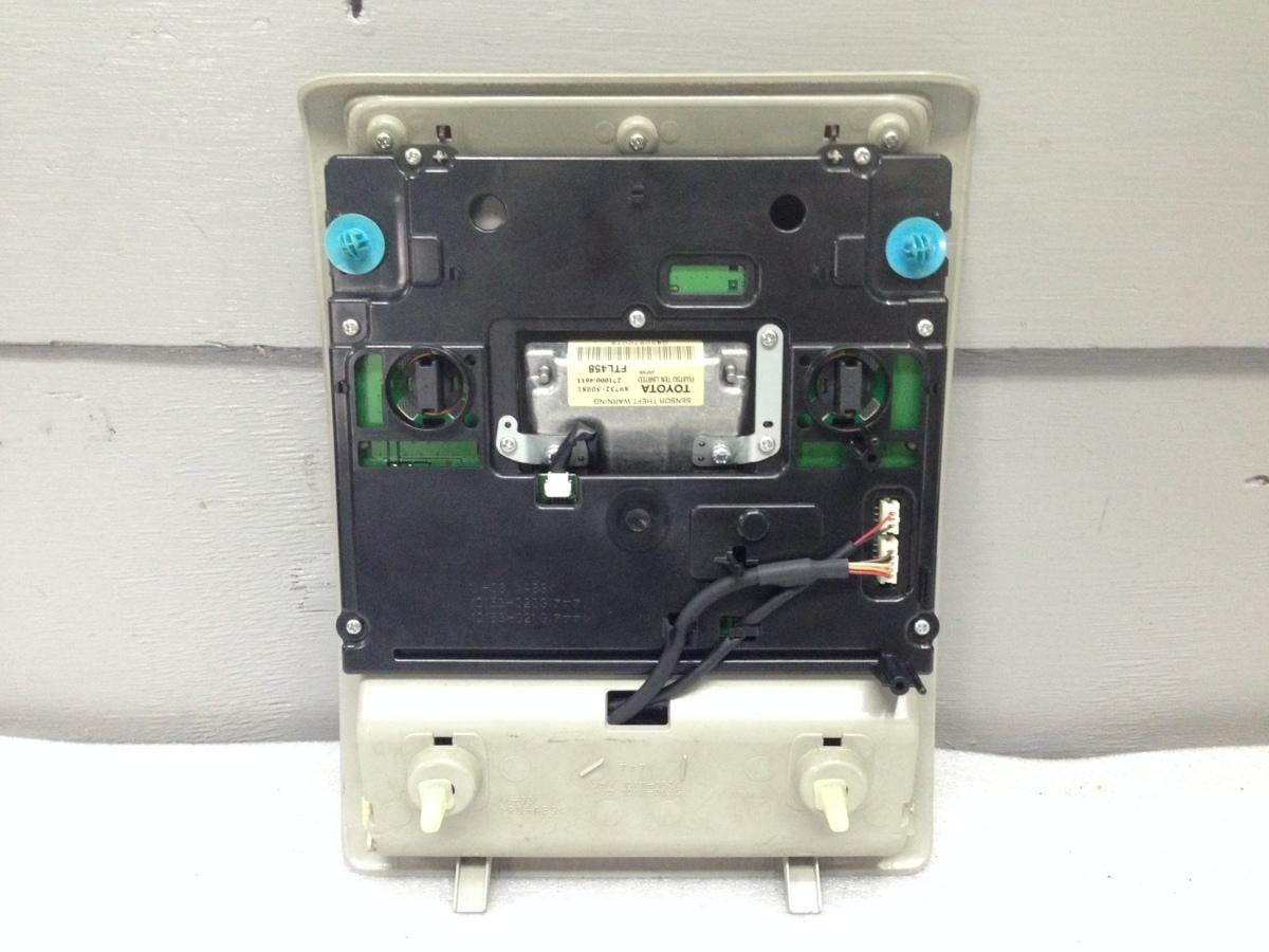LS UVF46 USF40 460 ルームランプ 81260-50691-B1 サンルーフ付 セキュリティ付用 ウッド_画像5