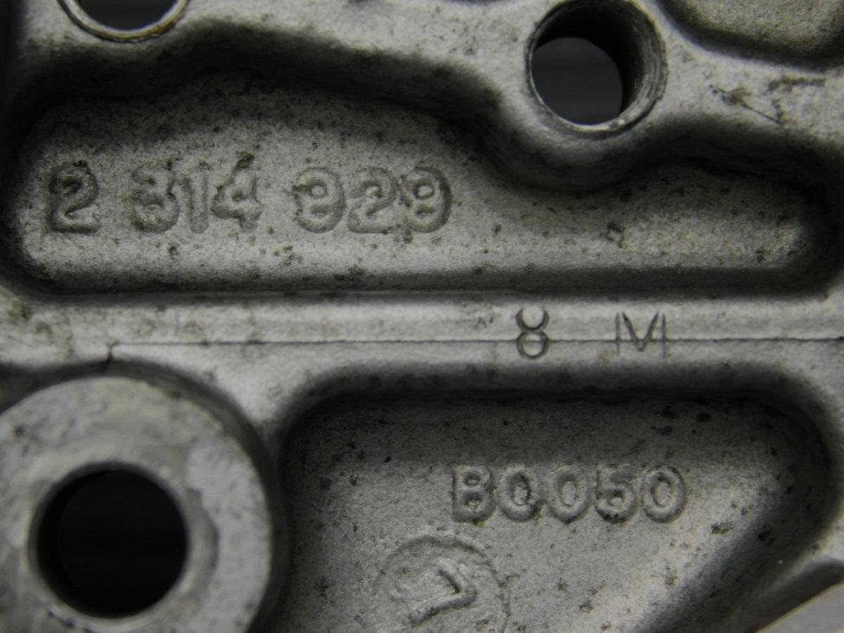 レア★良好 BMW R850R 社外 wunderlich ワンダーリッヒ アナログ 温度計 テンプ メーター キャップ型 付!! 純正 トップブリッジ Φ10_画像8