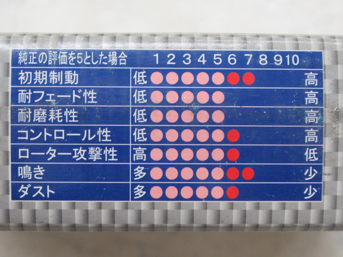 トヨタRAV4(SXA10W/SXA11W/ACA20W/ACA21W)用re:al(レアル)S2リアブレーキパッド(SR373)未使用品 その②_画像5