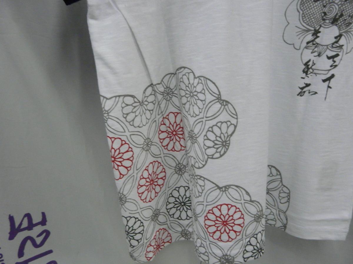 スカジャン* 半袖ヘンリー和柄Tシャツ M 3132円の品_画像6