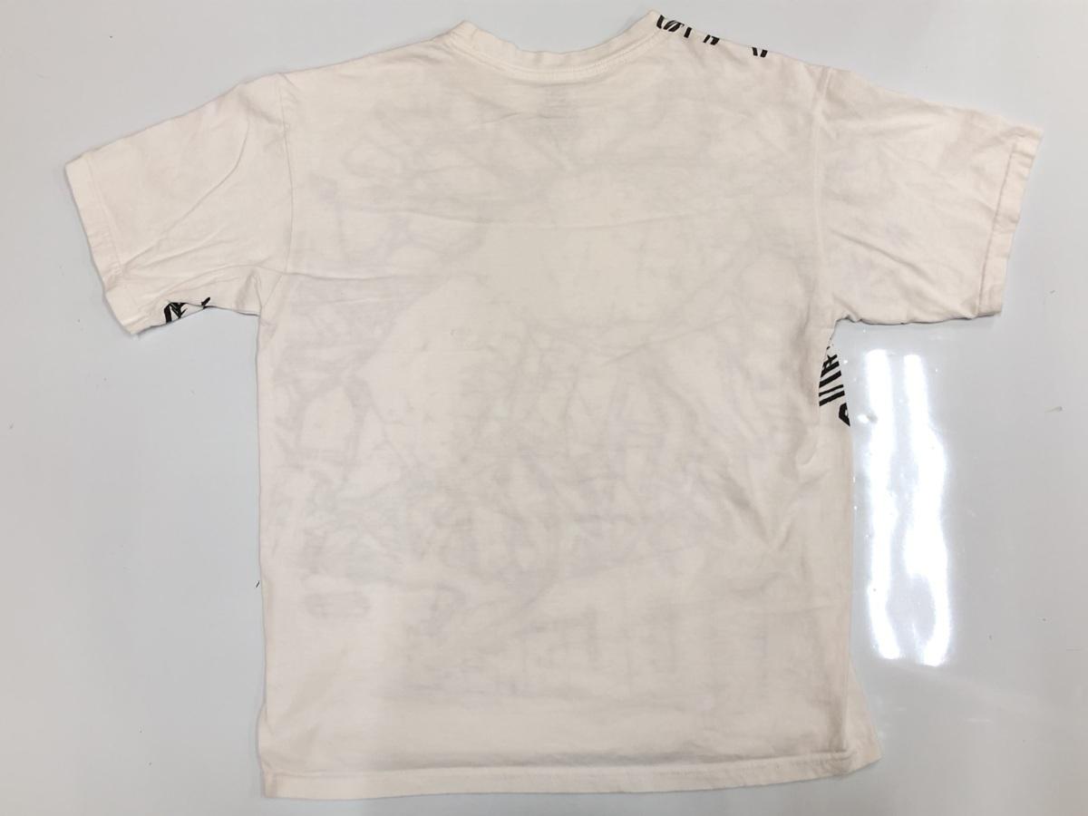 DC ディーシーDC  半袖Tシャツ サイズ XL  ホワイト スポーツウェア スケートボード  メンズ ストリート BIG_画像2
