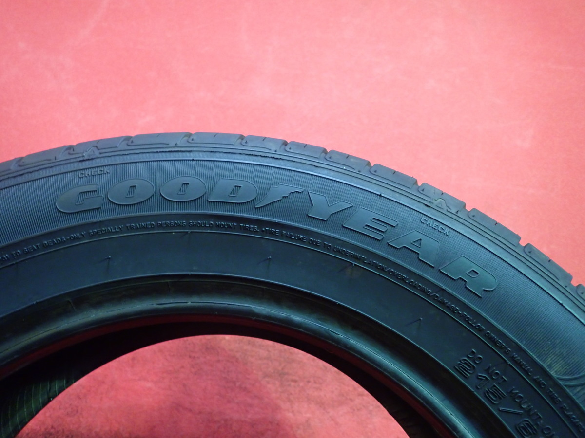 215/60R16● GOODYEAR GT-ECO STAGE / 中古 ★ 2本(T-42707)送料無料_画像5