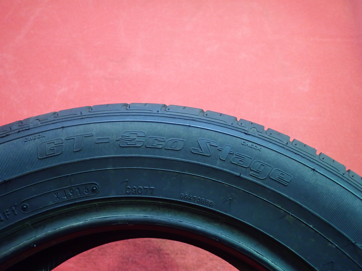 215/60R16● GOODYEAR GT-ECO STAGE / 中古 ★ 2本(T-42707)送料無料_画像7