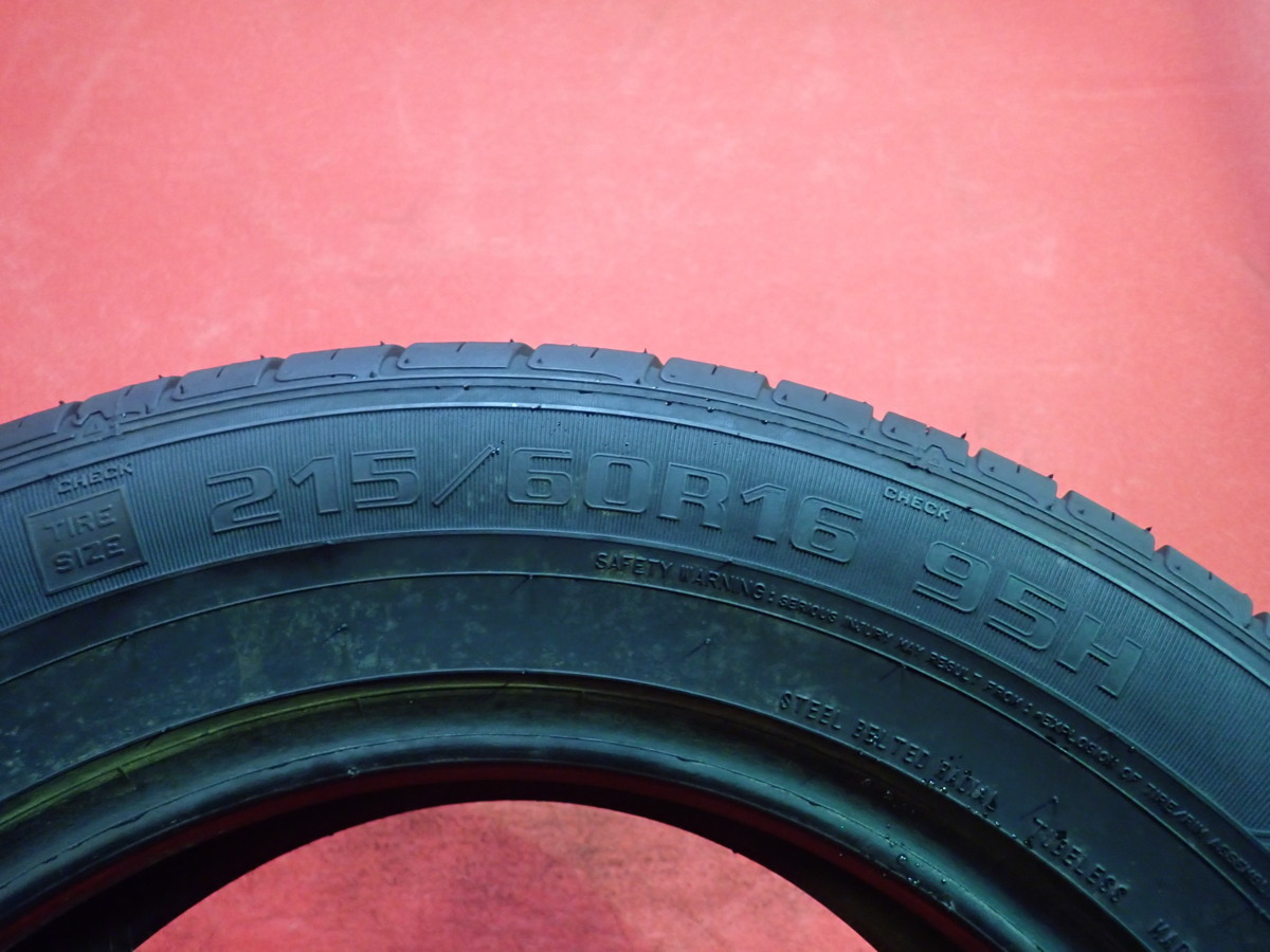215/60R16● GOODYEAR GT-ECO STAGE / 中古 ★ 2本(T-42707)送料無料_画像6