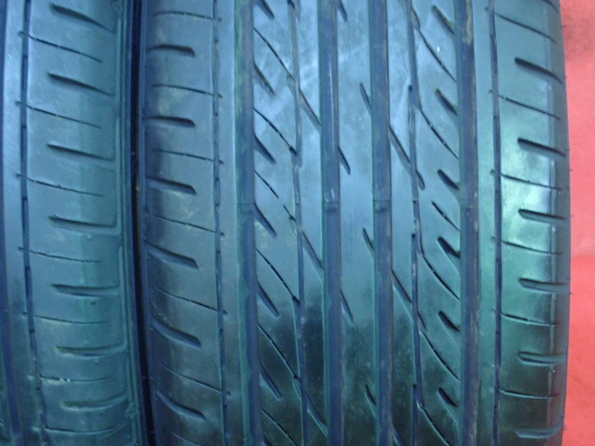 215/60R16● GOODYEAR GT-ECO STAGE / 中古 ★ 2本(T-42707)送料無料_画像3