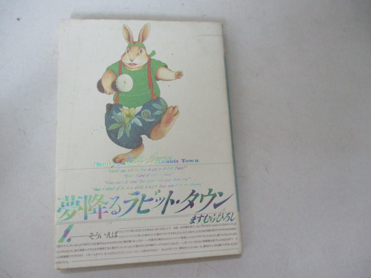 コミック・夢降るラビット・タウン・ますむらひろし・増進会出版・H2_画像1