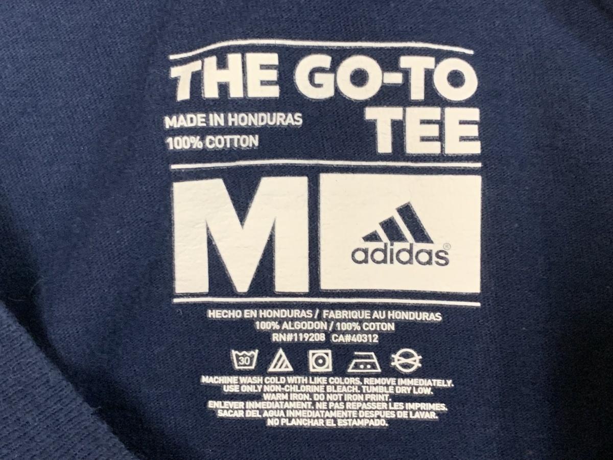 Adidas アディダス 半袖 Tシャツ 星条旗 M サイズM  アメカジ スポーツ 古着 スポーツウエア ジム トレーニング_画像3