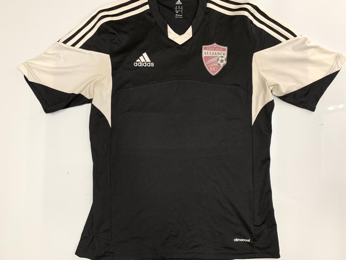 Adidas アディダス chicago alliance F.C.cimacool 半袖 Tシャツ サイズM アメカジ スポーツ 古着 フットボール_画像1