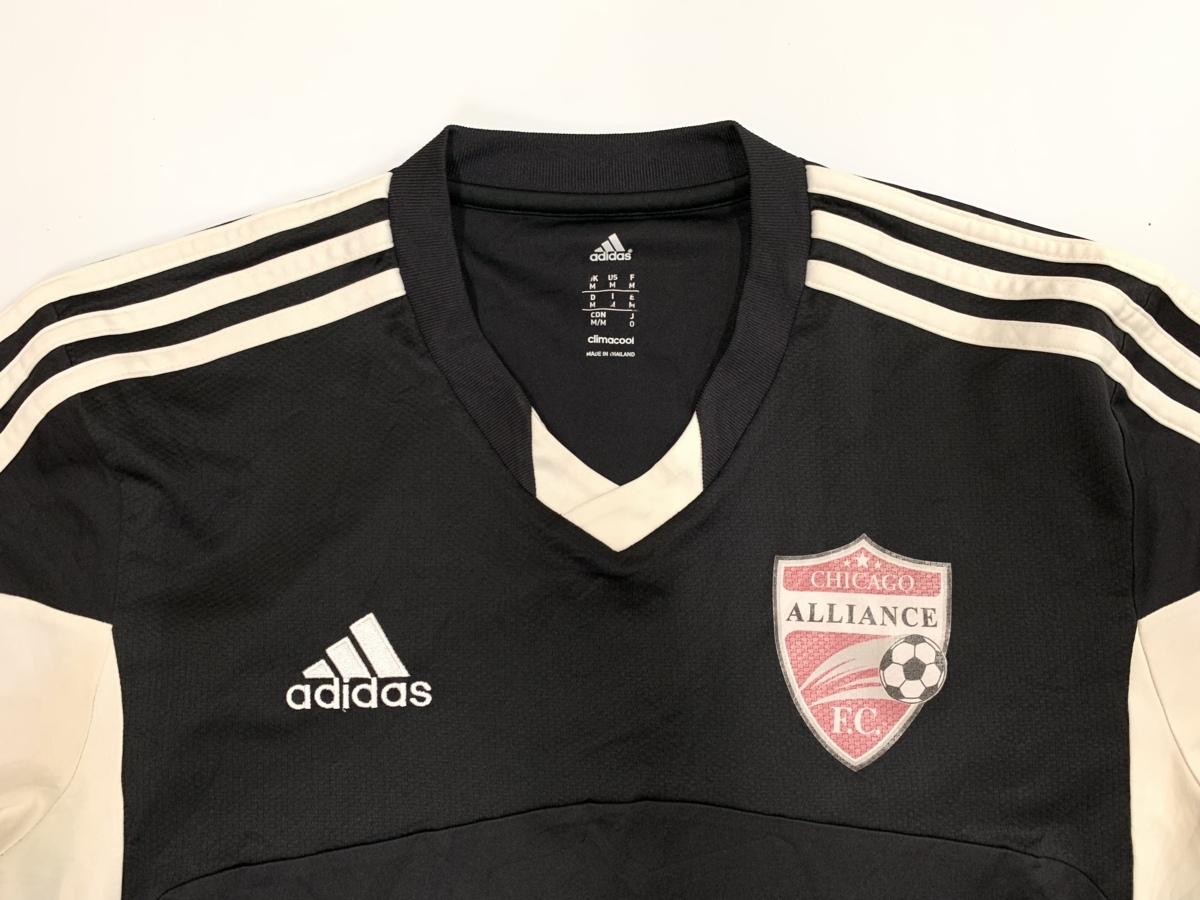 Adidas アディダス chicago alliance F.C.cimacool 半袖 Tシャツ サイズM アメカジ スポーツ 古着 フットボール_画像2