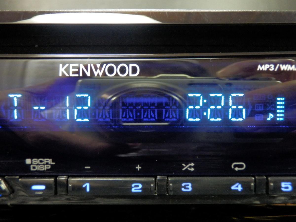 ◆◆ケンウッド KENWOOD U383 CD フロントUSB/AUX iPod/iPhone対応 1DIN 31456◆◆_画像2
