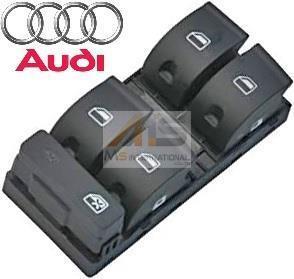 【M's】AUDI A4 (2005y-2008y) 純正品 パワーウィンドースイッチ (運転席側用)//アウディ 正規品 8E0-959-851D-5PR 8E0959851D5PR_画像1