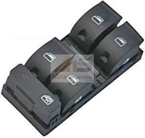 【M's】AUDI A4 (2005y-2008y) パワーウィンドースイッチ (運転席側用)//アウディ 純正OEM品 8E0-959-851D-5PR 8E0959851D5PR_画像1