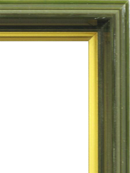 額縁 アートフレーム 色紙額縁 4954 (8X9寸) オリーブ_画像2