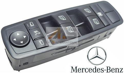 【M's】W251 Rクラス・W164 Mクラス/純正 パワーウィンドースイッチ(運転席側)//正規品 ベンツ R500 R550 R63 ML350 ML550 ML63 R350_画像1
