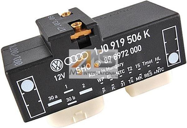 【M's】VW ボーラ/ゴルフ4(1J)電動ファンコントロールユニット//純正OEM 優良社外品 リレーユニット GOLF4 BORA 1J0-919-506K_画像1