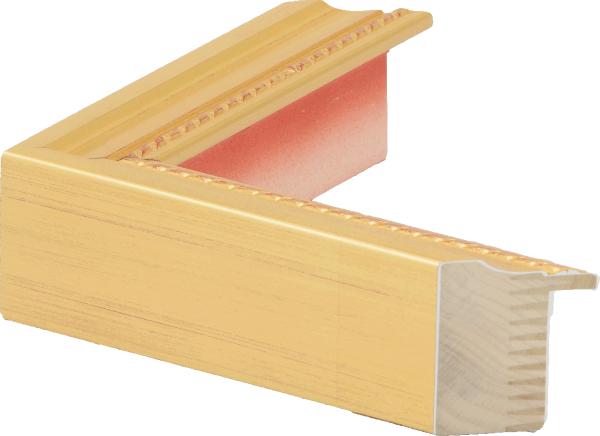 額縁 油絵額縁 油彩額縁 木製フレーム 仮額縁 7300 ゴールド サイズF15号_画像2